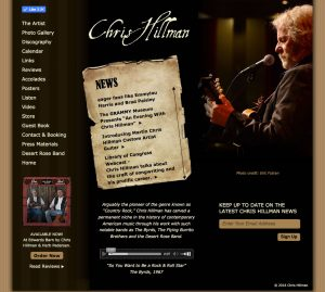 Chris Hillman's Home Page
