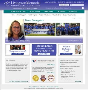 Livingston Memorial Visiting Nurse Association Home Page
