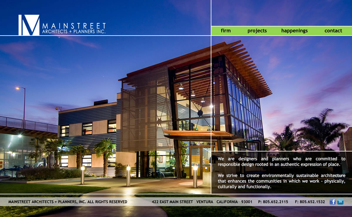 Main Street Architects + Planners Home Page