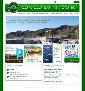 Ojai Valley Sanitary District Home Page