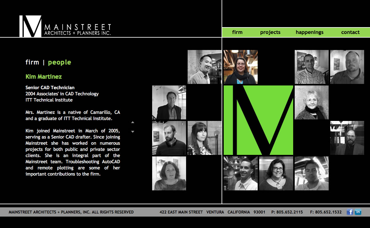 Main Street Architects + Planners People