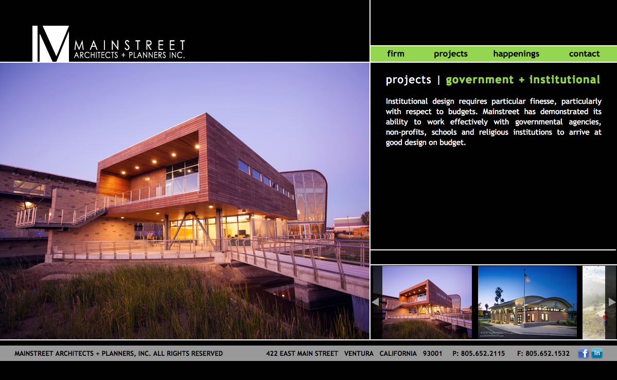 Main Street Architects + Planners Projects