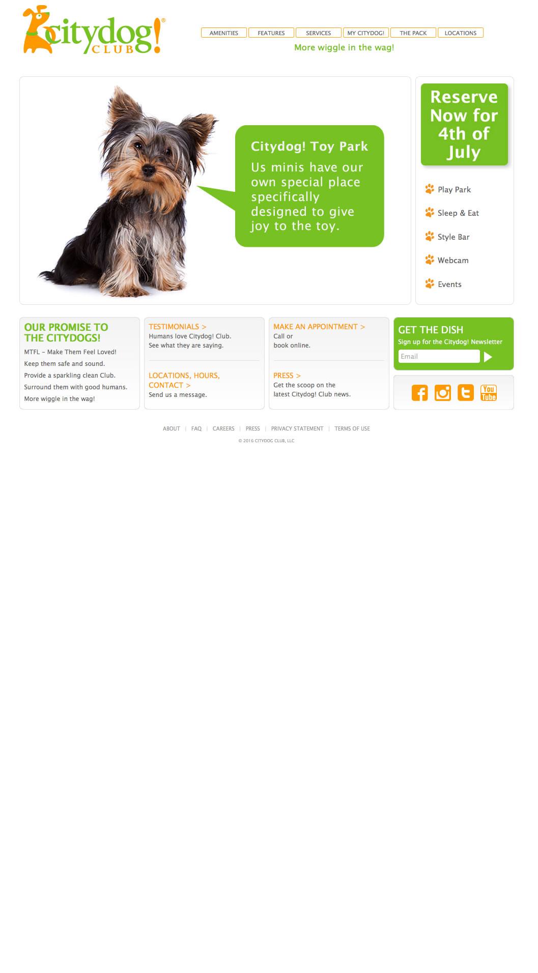 Citydog! Club Home Page