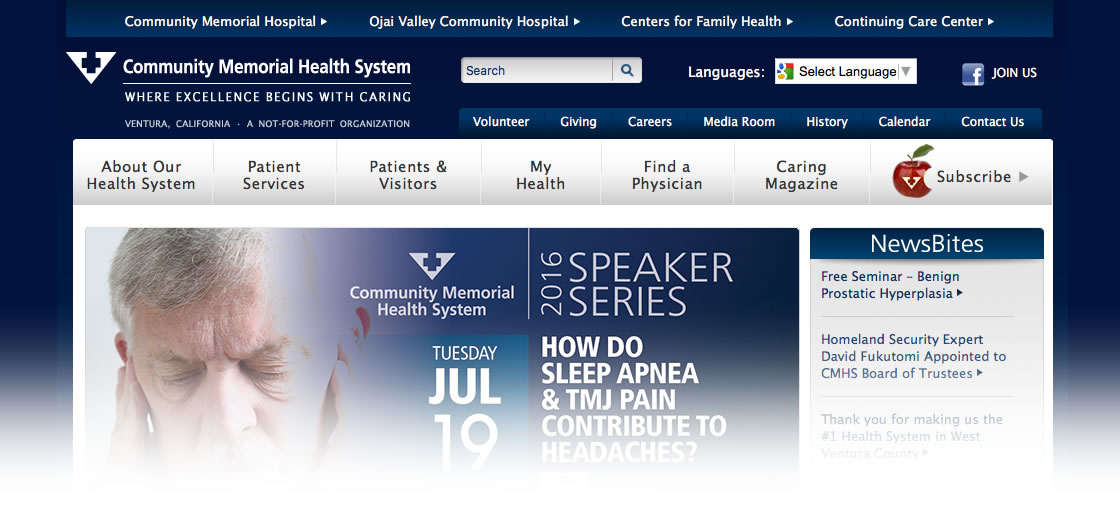 Community Memeorail Health System