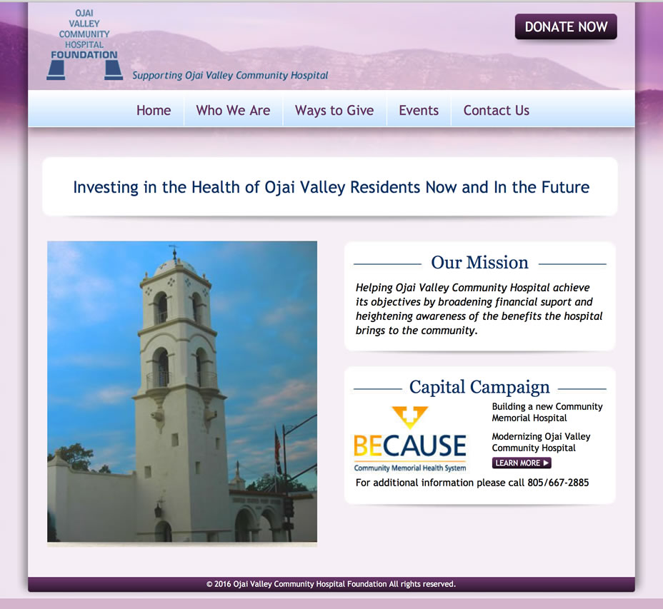 Ojai Valley Community Hospital Foundation